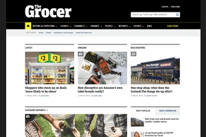 the grocer homepage